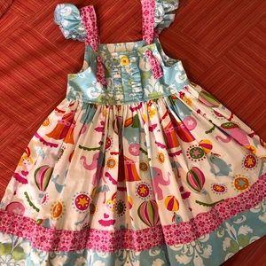 Eleanor Rose Circus Dress 🎪🐘